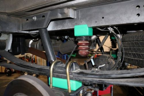"VAN COMPASS™ FORD TRANSIT TERRAIN 2"" REAR SUSPENSION LIFT SYSTEM ('15-PRESENT) 1500, 2500, 3500 & 35"